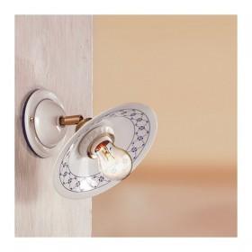 Apliques de pared de la lámpara ajustable de cerámica rústica país - Ø 21 cm