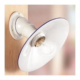 Appliques lampe de mur en céramique de campagne rustique rétro - Ø 28 cm