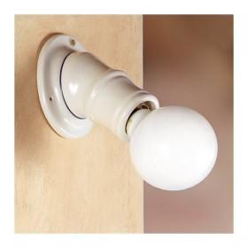 Apliques de pared, lámpara de cerámica rústica país retro - Ø 11 cm