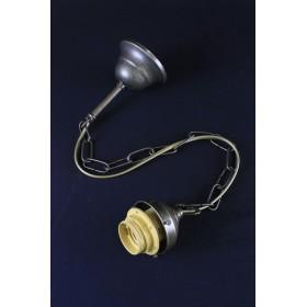 Supporto pendel catena portalampada per lampadario a sospensione stile rustico retro