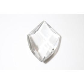 Pendentif pendentif gouttes sur les parties en verre lustre