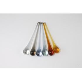 Chute de gouttes en verre de Murano 16 cm de pièces de rechange - DIVERSES COULEURS
