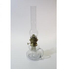 Lampe de lumière de l'huile transparente, avec poignée