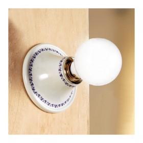 Appliques lampe de mur en céramique de campagne rustique rétro – Ø cm.15