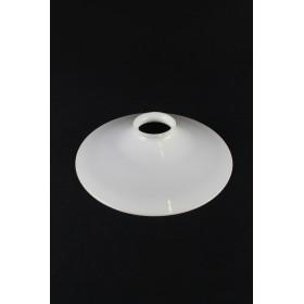 Paralume in vetro ambra trasparente di ricambio per lampada a petrolio
