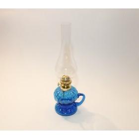 Lampada lume a petrolio trasparente (blu, trasparente)