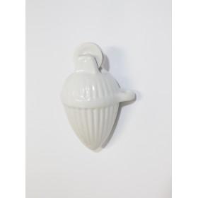 Contrappeso lampadario rustico in ceramica saliscendi