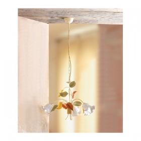 Lampe à Suspension 3 lumières foré en céramique vintage rétro – Ø 60 cm