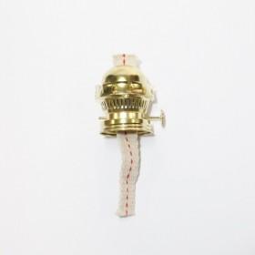 Bruciatore per lampada a petrolio con stoppino