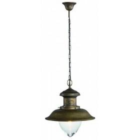 Lampadario ottone anticato stile vintage rustico retrò - VARIE MISURE